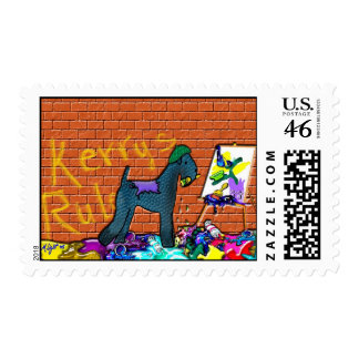 """Dog Stamps - """"Kerry's Rule"""" Postage Stamp"""