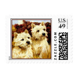 Dog Stamps -  West Highland Terriers