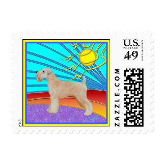 """Dog Stamps - Wheaten Terrier: """"Our Boy"""" Postage"""