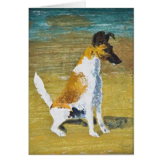 Dog Stanislav Stanek Card