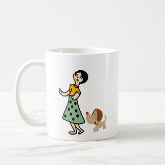 Dog Story Coffee Mug