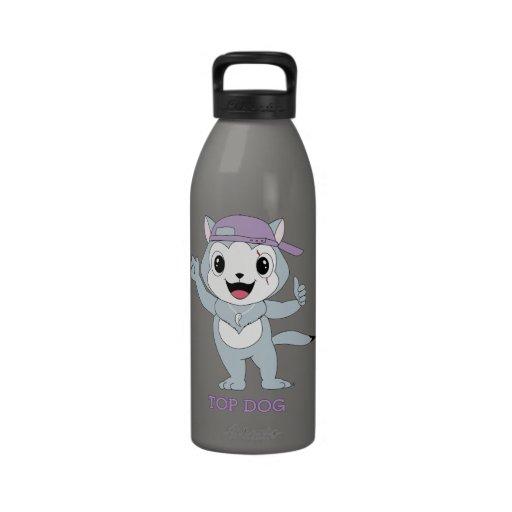 Dog™ superior botella de agua reutilizable