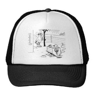 Dog Swimming Pool Trucker Hat