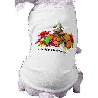 Dog T-Shirt: It's My Birthday!