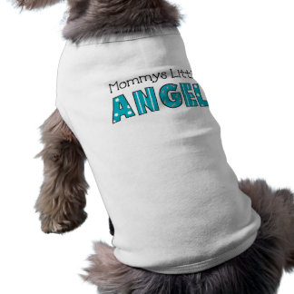 Dog T-Shirt Pet Clothing Mommy's Little Angel 2