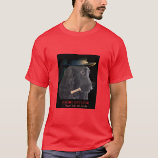 Dog T-shirt: SPANIEL Day-Lewis There Will Be Grub T-Shirt