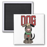 Dog T-shirts and Gifts Fridge Magnets