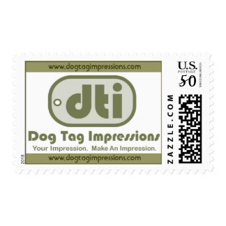 Dog Tag Impressions Logo Stamp