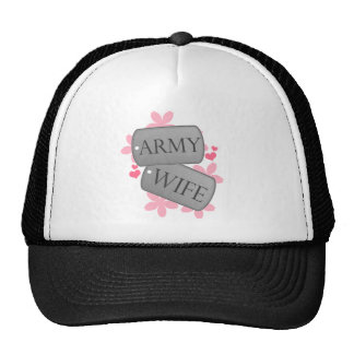 Dog Tags - Army Wife Trucker Hat