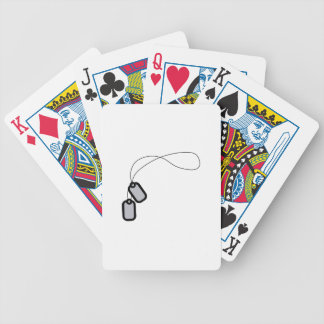 Dog Tags Bicycle Playing Cards