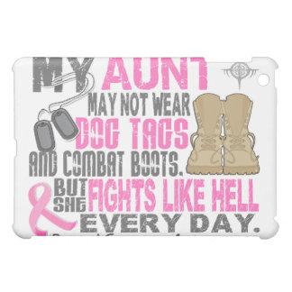 Dog Tags Breast Cancer Aunt iPad Mini Covers