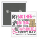 Dog Tags Breast Cancer Mother Pin