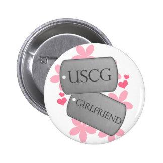 Dog Tags - USCG Girlfriend Pins