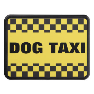 Dog Taxi Hitch Cover