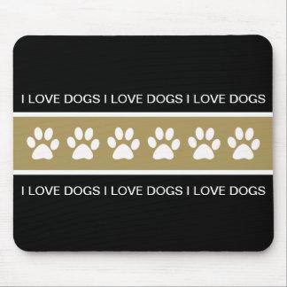 Dog Theme Mouse Pad