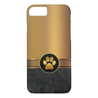 Dog Theme Paw Print iPhone 7 Case