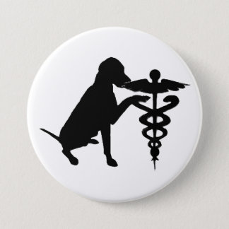 DOG THERAPY HOSPITAL BUTTON