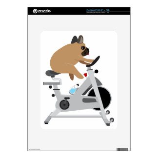 Dog Tired Decal For iPad
