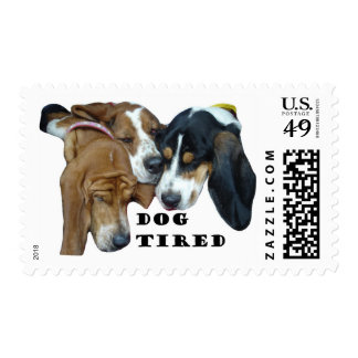 Dog Tired Postage