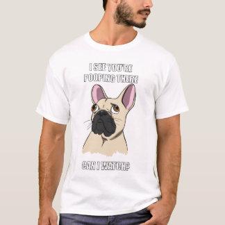 Dog Toilet Watcher T-Shirt