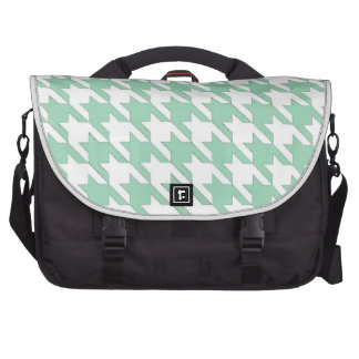 Dog Tooth Mint Commuter Bag