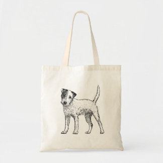 Dog Tote Bag - Jack Russell / Parsons Terrier