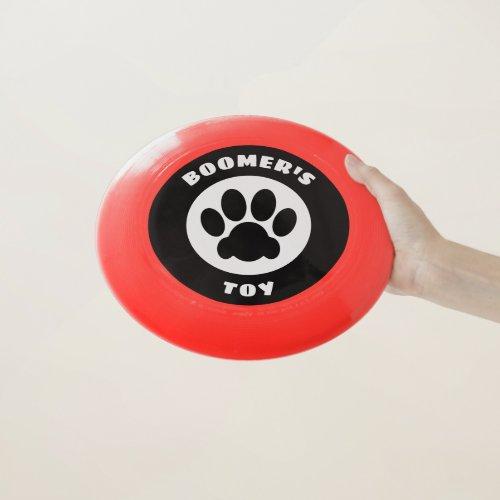 Dog Toy (customizable) Wham-O Frisbee