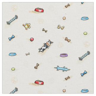 Dog Toy Land Fabric
