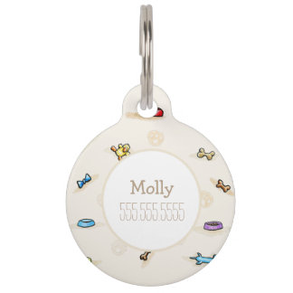 Dog Toy Land Personalized Pet Tag