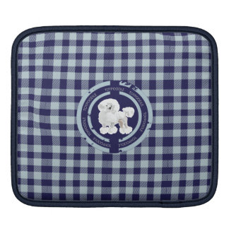 DOG TOY POODLE  (BLUE) SLEEVES FOR iPads