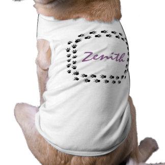 DOG TRACKS FRAME PET'S NAME EZ2 CUSTOMIZE T-SHIRT