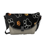 Dog Tracks Rickshaw Messenger Bag