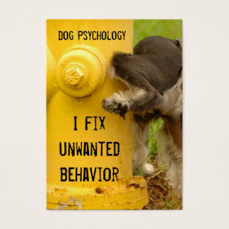 Dog trainer-be unforgettable business card