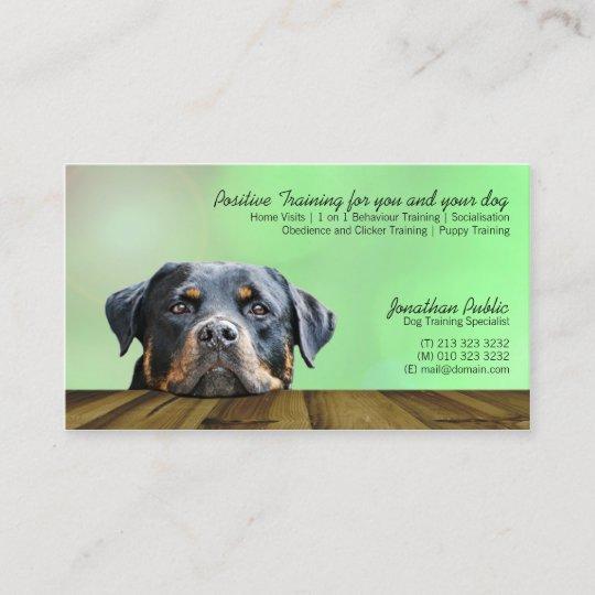 Dog trainer business card zazzle dog trainer business card colourmoves