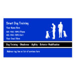 Dog Trainer Business Cards