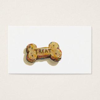 Dog trainer business cards sitter walker fun art