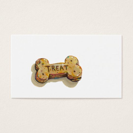 Dog trainer business cards sitter walker fun art