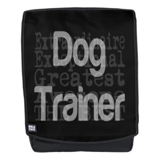 Dog Trainer Extraordinaire Backpack
