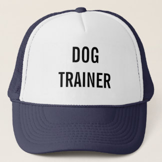 """Dog trainer"" hat"