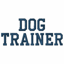Dog Trainer Personalized Men's Embroidered Shirt