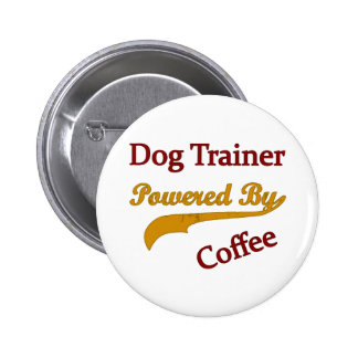 Dog Trainer Powred By Coffee Button