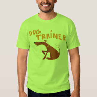 Dog Trainer Shirt for Humans