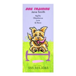 Dog Trainer Wheaten Terrier Pet Business Marketing Rack Card