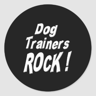 Dog Trainers Rock! Sticker