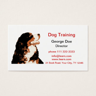 Dog Training Business Card