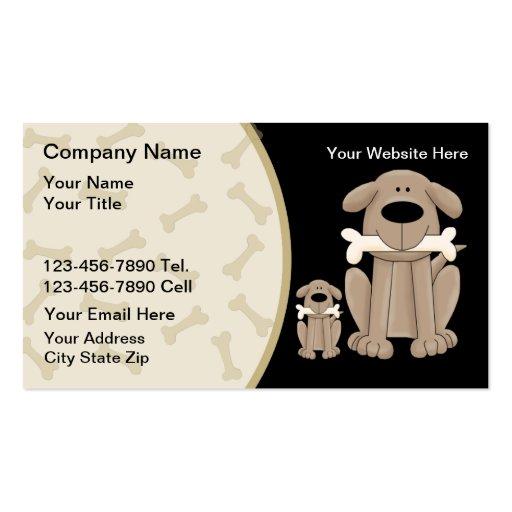 Dog training business card templates bizcardstudio dog training business cards colourmoves