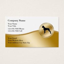 Doberman business cards templates zazzle dog training business cards colourmoves