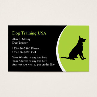 Dog Training Business Cards & Templates | Zazzle