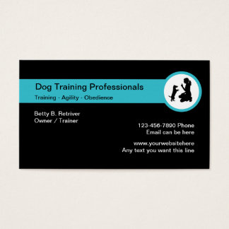 Dog Training Classes Business Card