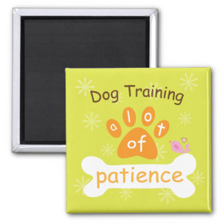 Dog Training Happy Happy Magnats Refrigerator Magnet